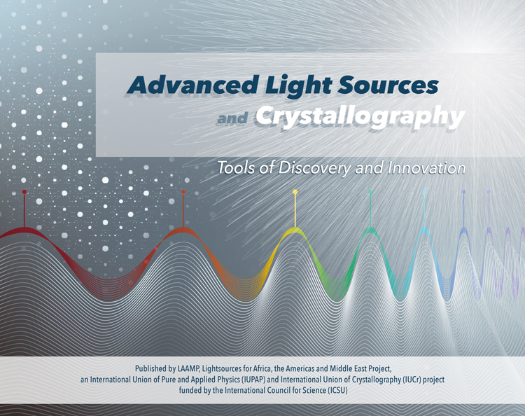 Brochure éducative de 24 pages, format 26,5 x 21 cm, Advanced Light Sources and Crystallography